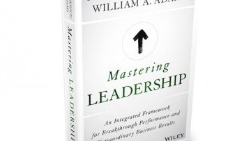 Book cover of Mastering Leadership by Robert Anderson and William Adams