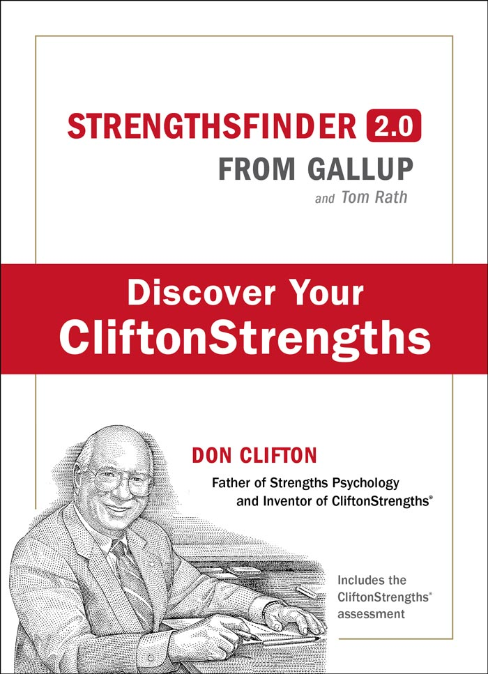 Cover of the Gallup CliftonStrengths book