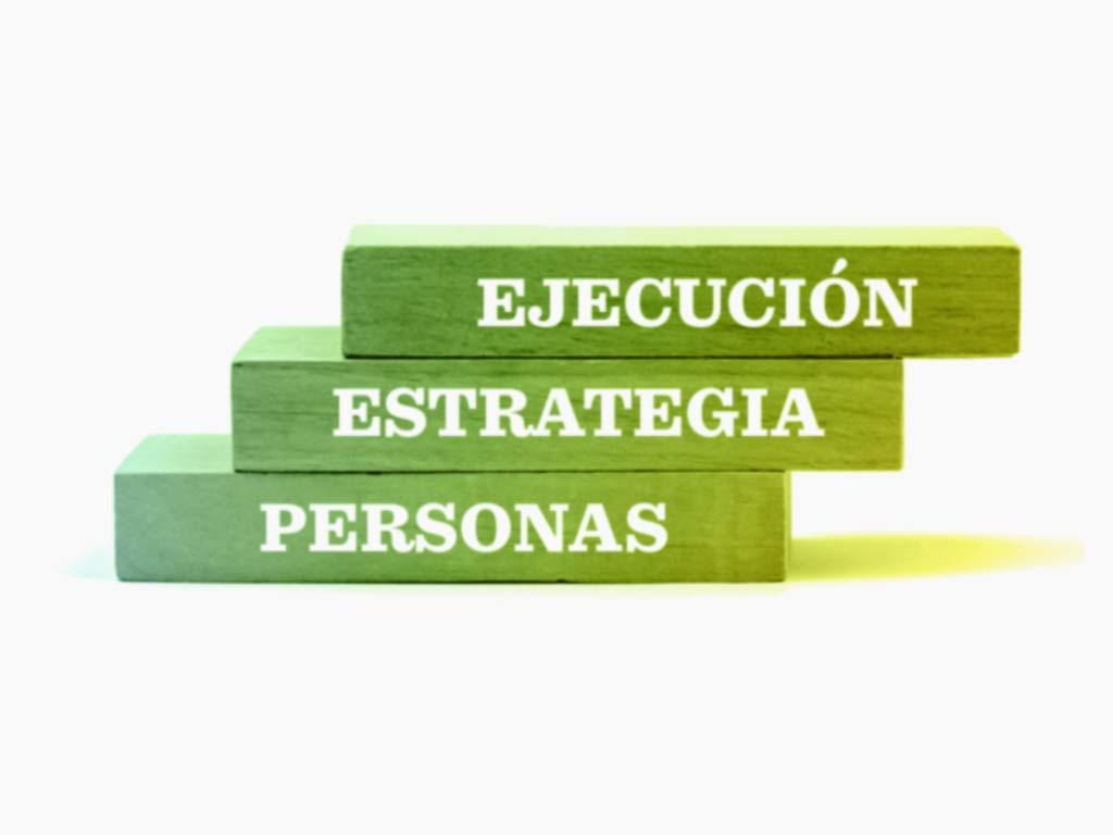 Para alcanzar tus objetivos de empresa debes centrarte en las personas, la estrategia y la ejecución